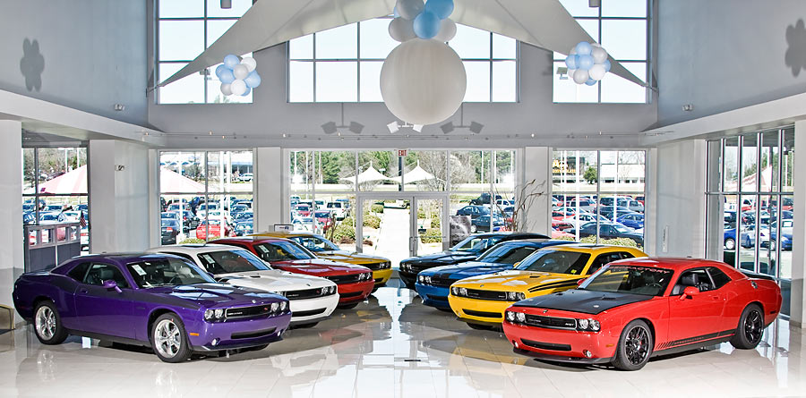 The Coolest Dodge Dealership Showroom