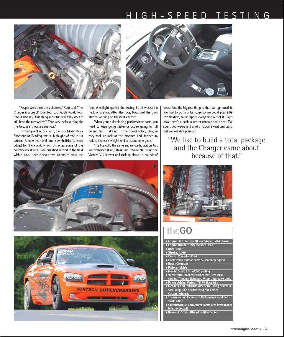 "SpeedFactory's 426 Charger Featured In ""Fastest Street Car"