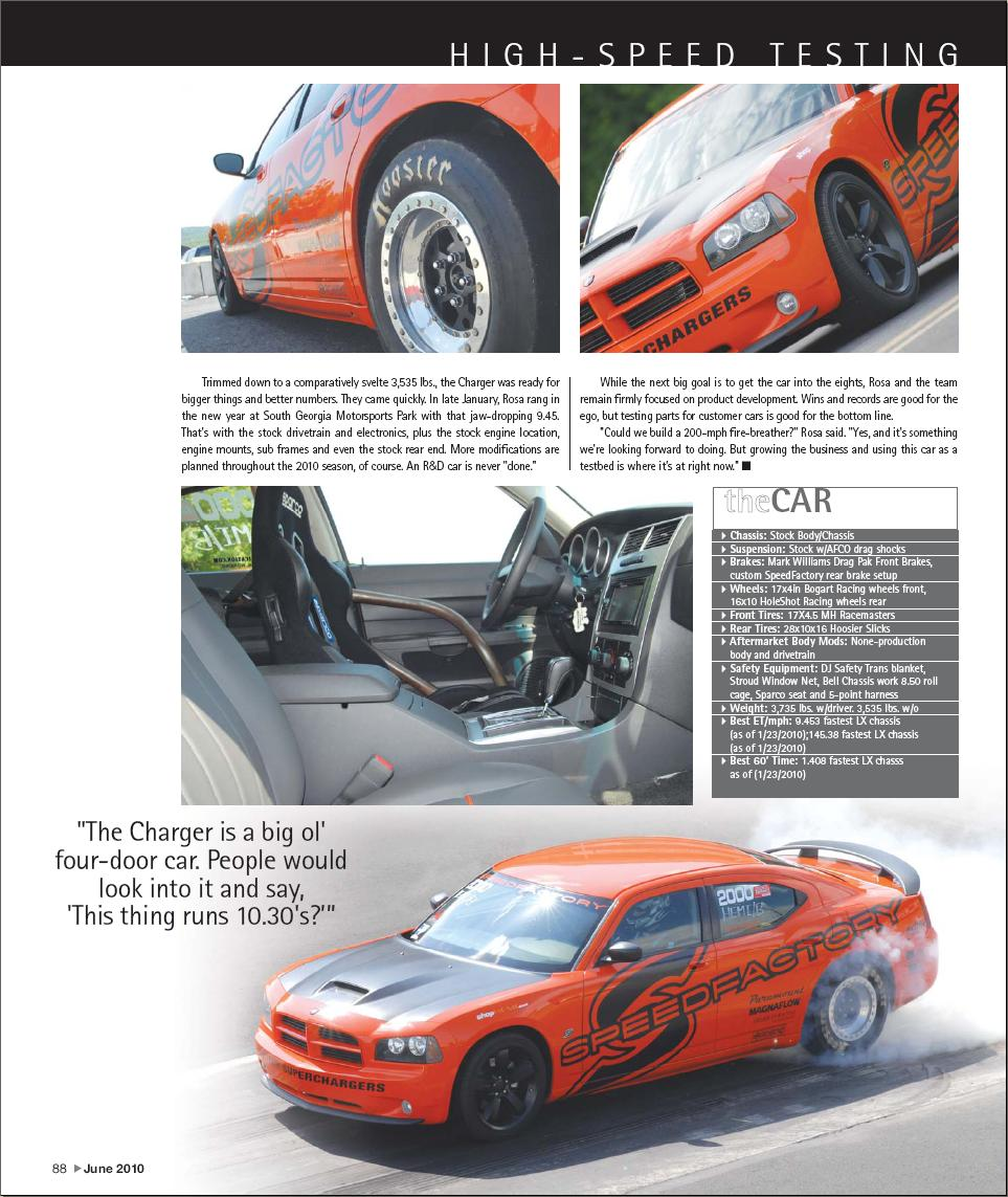 Fastest Street Car Article Page